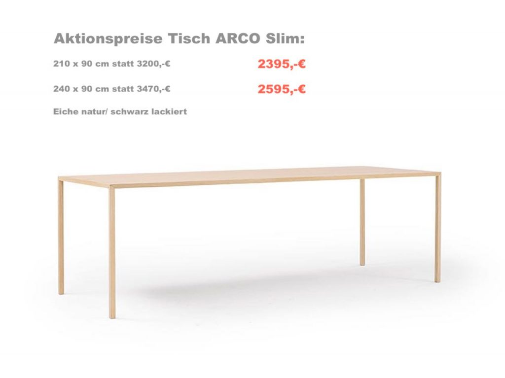 Slim Table Arco